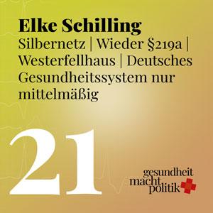 gmp021 Elke Schilling |Silbernetz | Spahn |219a |Westerfellhaus |Deutsches Gesundheitssystem nur mittelmäßig