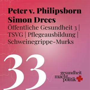 gmp033 Öffentliche Gesundheit 3 |Junge ÖGD | Peter von Philipsborn & Simon Drees