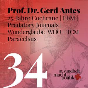 gmp034 Prof. Gerd Antes - 25 Jahre Cochrane
