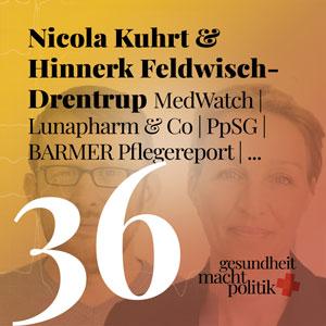 gmp036 Nicola Kuhrt & Hinnerk Feldwisch-Drentrup | MedWatch