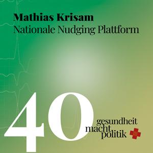 gmp040 Mathias Krisam - Nationale Nudging Plattform