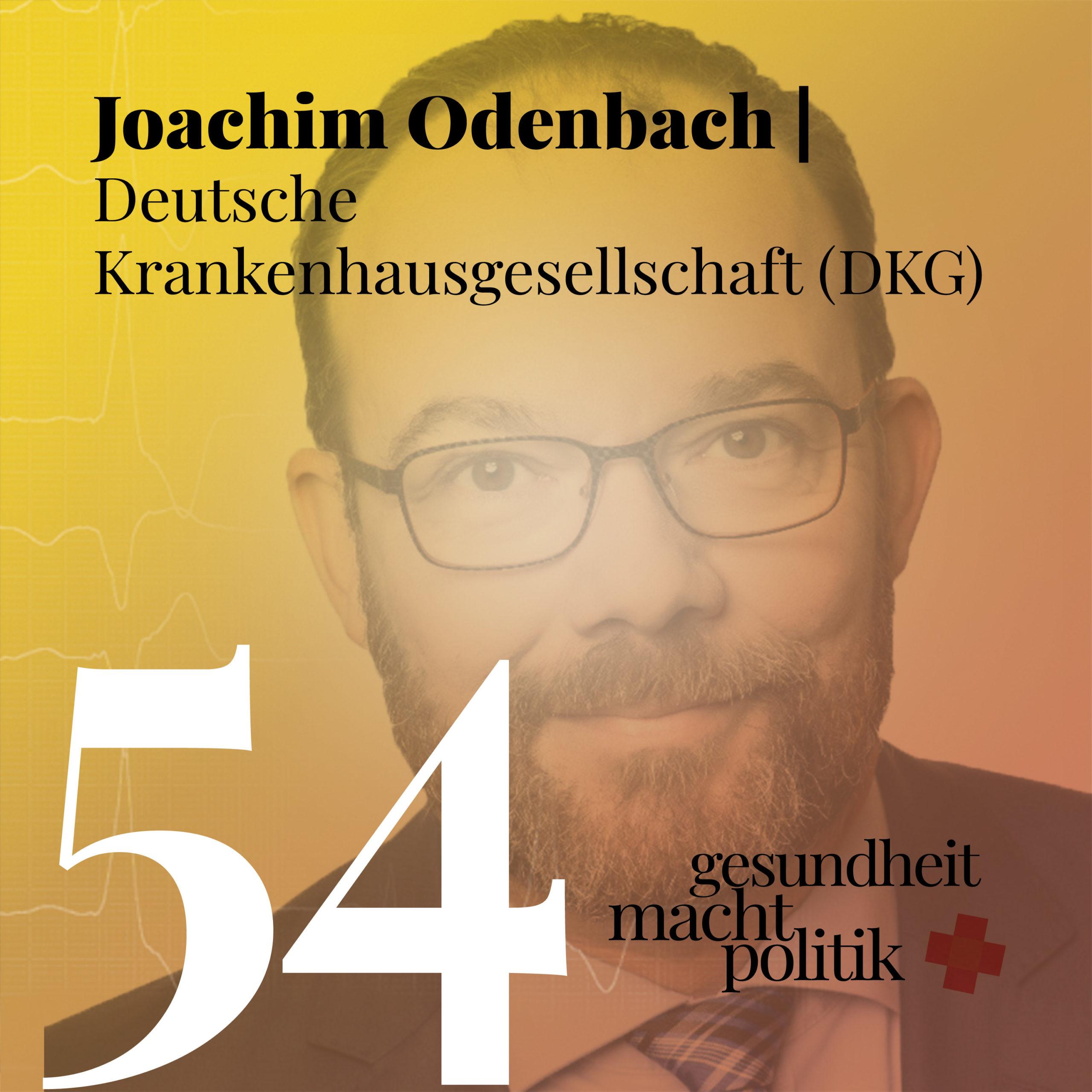 gmp054 Joachim Odenbach - Deutsche Krankenhausgesellschaft (DKG)