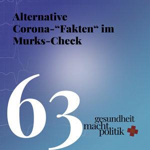 """gmp063 Alternative Corona-""""Fakten"""" im Murks-Check"""