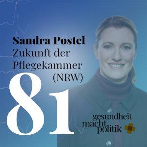 gmp081 Sandra Postel  Zukunft der Pflegekammer (NRW)