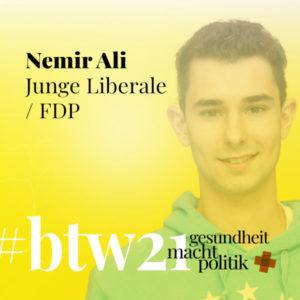 gmp084 Nemir Ali |Junge Liberale & FDP zur #btw21