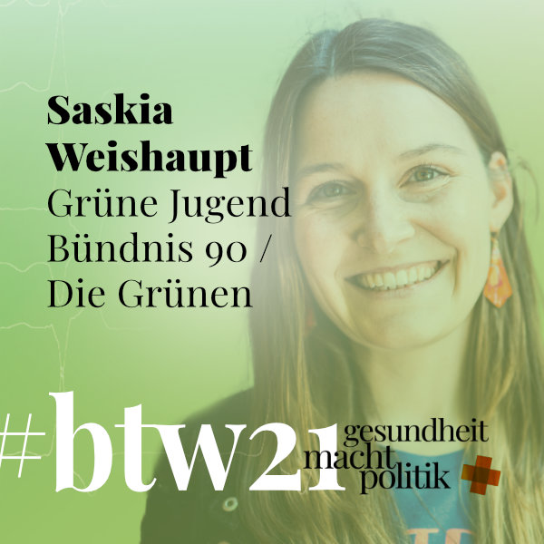 gmp087 Saskia Weishaupt |Grüne Jugend & Bündnis90 Die Grünen zur #btw21